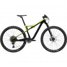 "Велосипед Cannondale SCALPEL SI Carbon 4 рама - S 2020 ARG зеленый 27,5"""