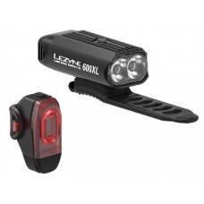 Комплект света LEZYNE MICRO DRIVE 600XL / KTV PAIR Черный / Черный Y13