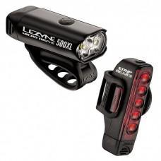 Комплект света LEZYNE MICRO DRIVE 500XL / STRIP PAIR Чорний