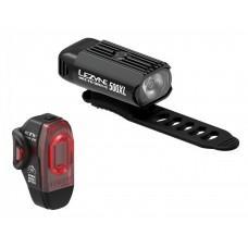 Комплект света LEZYNE HECTO DRIVE 500XL / KTV PRO PAIR Черный / Черный Y13