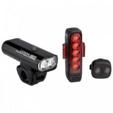 LEZYNE CONNECT DRIVE 800XL / STRIP CONNECT PAIR Черный CONNECT DRIVE FRONT + LED STRIP CONNECT DRIVE - INCLUDES 1 FRONT LED MACRO DRIVE AND 1 REAR STRIP DRIVE, WIRELESS REMOTE BUTTON, REAR MOUNTING SILICONE RUBBER STRAP, AND USB CABLE