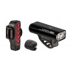 Комплект света LEZYNE CONNECT DRIVE 800XL / STRIP CONNECT PAIR Черный CONNECT DRIVE FRONT + LED STRIP CONNECT DRIVE - INCLUDES 1 FRONT LED MACRO DRIVE AND 1 REAR STRIP DRIVE, WIRELESS REMOTE BUTTON, REAR MOUNTING SILICONE RUBBER STRAP, AND USB CABLE