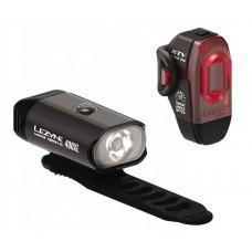 Комплект света LEZYNE MINI DRIVE 400 / KTV PRO PAIR Черный / Черный Y13