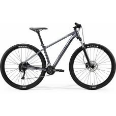Велосипед MERIDA BIG.NINE 200 M GLOSSY ANTHRACITE(BLACK/SILVER)