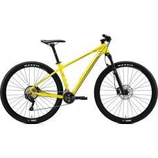Велосипед MERIDA BIG.NINE 500 M GLOSSY BRIGHT YELLOW(BLACK)