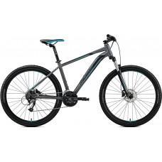 "Велосипед MERIDA BIG.SEVEN 40-D L(18.5"") MATT DARK SILVER(BLUE/BLK)"