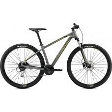 "Велосипед MERIDA BIG.NINE 100 S(14.5"") MATT GREY(YELLOW/DARK GREY)"