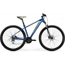 Велосипед MERIDA BIG.NINE 20-D L SILK MEDIUM BLUE(SILVER/YELLOW)