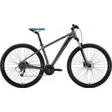 "Велосипед MERIDA BIG.NINE 40-D M(17"") MATT DARK SILVER(BLUE/BLK)"