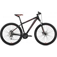 """Велосипед MERIDA BIG.SEVEN 20-MD S(15"""") MATT BLACK(RED/SILVER)"""