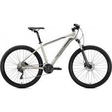 """Велосипед MERIDA BIG.SEVEN 80-D L(18.5"""") MATT TITAN(BLACK/SILVER)"""
