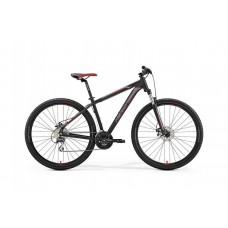 "Велосипед MERIDA BIG.NINE 20-MD S(15"") MATT BLACK(RED/SILVER)"