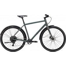 Велосипед MERIDA CROSSWAY URBAN 300 L(55cм) MATT DARK GREEN (REFLECTIVE GREEN)
