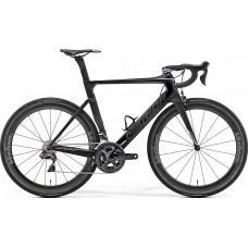 Велосипед MERIDA REACTO 8000-E M-L(54cм) MATT UD(SHINY BLACK/CHROME)