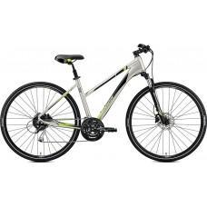 Велосипед MERIDA CROSSWAY 100 XS(43Lcм) SILK TITAN (GREEN)