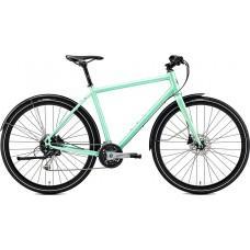 Велосипед MERIDA CROSSWAY URBAN 100 L(55cм) MATT MINT GREEN (GLOSSY MINT)