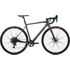 Велосипед MERIDA MISSION CX 5000 L(56cм) SILK SILVER(RED)