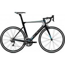 Велосипед MERIDA REACTO 4000 L(56cм) MET. BLACK(SILVER/BLUE)