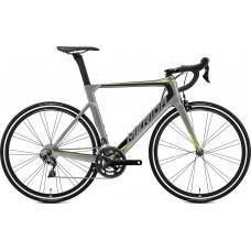 Велосипед MERIDA REACTO 5000 M-L(54cм) MATT MET. GREY(BLACK/GREEN)