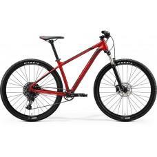 Велосипед MERIDA BIG.NINE 400 M SILK X'MAS RED(BLACK/RED)