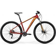 Велосипед MERIDA BIG.NINE 80 M GLOSSY SPARKLING RED(ORANGE)