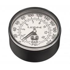 "Манометр LEZYNE 220 PSI GAUGE 2.5"" Серебристый 2.5"", 220PSI REPLACEMENT PRESSURE GAUGE FOR ALL FLOOR PUMPS, INCLUDES GLUE AND O-RING"