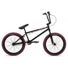 """Велосипед Stolen 20"""" CASINO рама - 20.25"""" 2021 BLACK & BLOOD RED"""