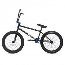 "Велосипед Stolen SINNER FC LHD 2020 BLACK W/ BLUE, чёрный 20"""