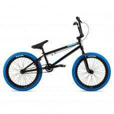 """Велосипед Stolen 18"""" AGENT 2021 BLACK W/ DARK BLUETIRES"""