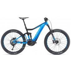 Електровелосипед Giant Trance E+ 2 PRO 25km/h 27.5+black-blue. M