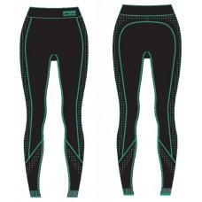 Термобелье женское R2 Basis (брюки длинные) Черно-мятный S