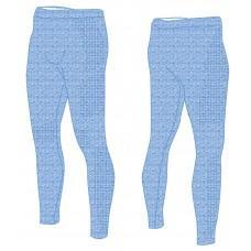 Термобелье детское R2 Bassy (брюки длинные) Синий melange 6Y