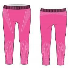 Термобелье детское R2 Bassy (брюки длинные) Розовый 10Y