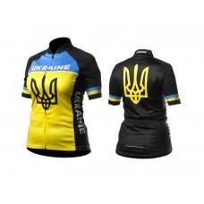 Веломайка женская ONRIDE Ukraine черно/желтый L