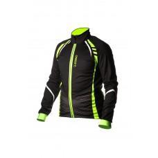 Велокуртка ONRIDE BARK черно-зеленый L.  EU-M
