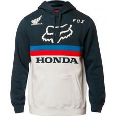 Толстовка FOX HONDA PULLOVER FLEECE [NAVY WHITE]