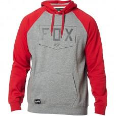 Толстовка FOX SHIELD RAGLAN PO FLEECE [HEATHER GRAPHITE]