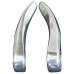 Рожки Giant Alloy 104mm серебряные