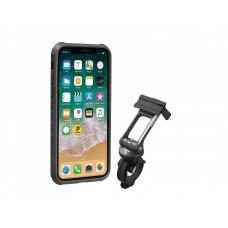 Чехол для телефона Topeak RideCase iPhone X / XS, черн. / Сер.