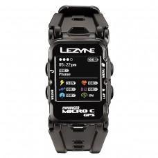 GPS часы LEZYNE MICRO C GPS WATCH COLOR HR Чорний  COLOR GPS WATCH UNIT, HEART RATE SENSOR, HANDLEBAR ADAPTER, USB CHARGER CABLE INCLUDED
