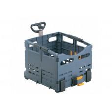 Ящик складной. на багажной. Topeak TrolleyTote Folding Basket, 22л, пласт., сер, 2,2кг