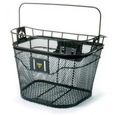 Корзина на руль Topeak Basket Front 16л, мет.ситка, с / фикс.F3e, черн., 1370г