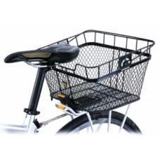 Корзина на багажник Topeak MTX Basket Rear 23.44л, мет.ситка, с / фикс.6, 1530г