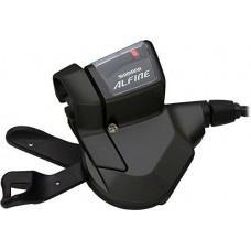 Шифтер Shimano Alfine SL-S700, Правый 8-скоростей, Черный, трос+оплетка