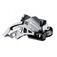 Переключатель передний Shimano  ACERA FD-M3000, 3x9 Top-Swing универсальна тяга 66-69°