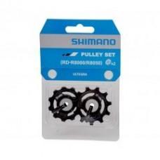 Ролики заднего переключателя Shimano ULTEGRA RD-R8000, комплект 2шт, нижний + верхний