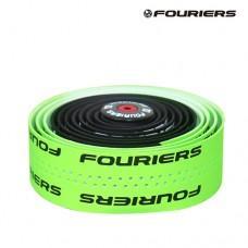 Обмотка руля Fouriers PU Bartape 3.0мм 2-кол., EVA, заглушки с/болт., черн./зел.неон