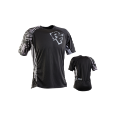 Футболка RACE FACE INDY JERSEY-SS-BLACK/GREY L
