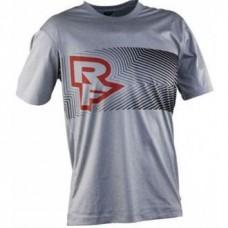 Футболка RACE FACE TRIGGER TECH TOP-SS-GREY/FLAME XL