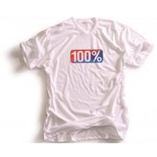 Футболка Ride 100% VINTAGE TEE-SHIRT 100% [WHITE], M